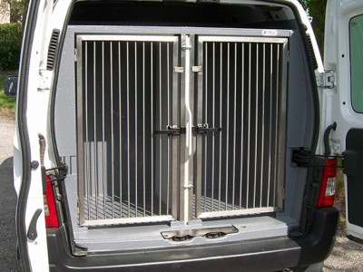 Dogtran, over 20 years experience designing & fitting out vehicles for the safe & comfortable transit of animals, including dog transit boxes T:01952 680433